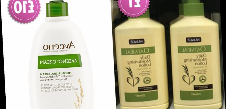 Fans rave about Poundland's new skin-soothing range claiming it's just like Aveeno's £10 version
