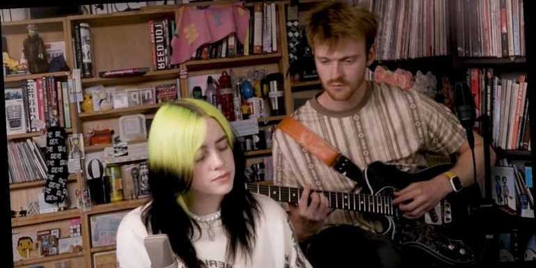 Billie Eilish & Finneas Perform Tiny Desk Concert From Home