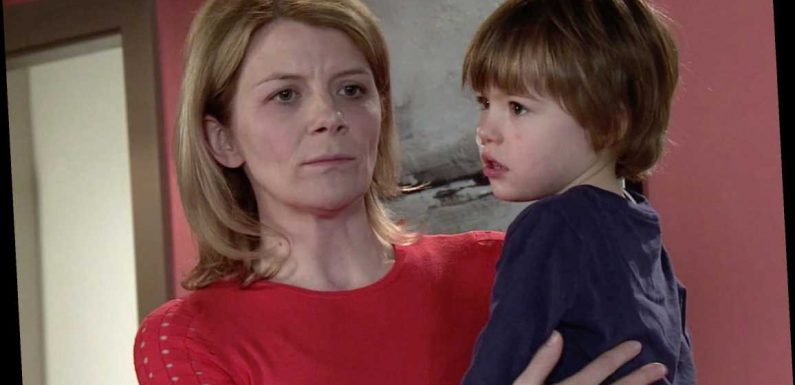 What is wrong with Leanne's son Oliver in Coronation Street and is the toddler going to die?