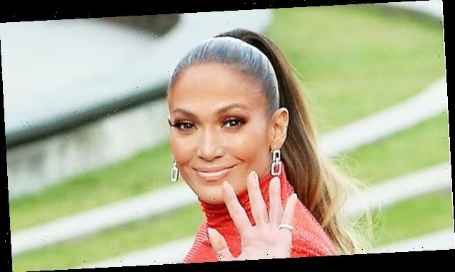 Jennifer Lopez, 51, Stuns In A Sexy Red & White Dress Plus More Of Her Hottest Quarantine Looks