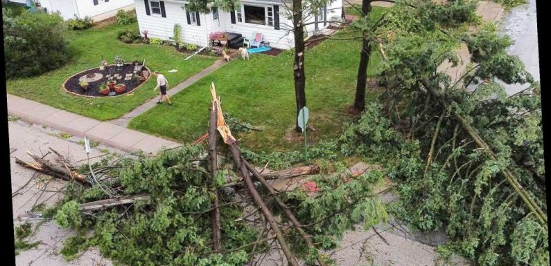 Rare storm ravages Midwest, leaves 1.1 million without power