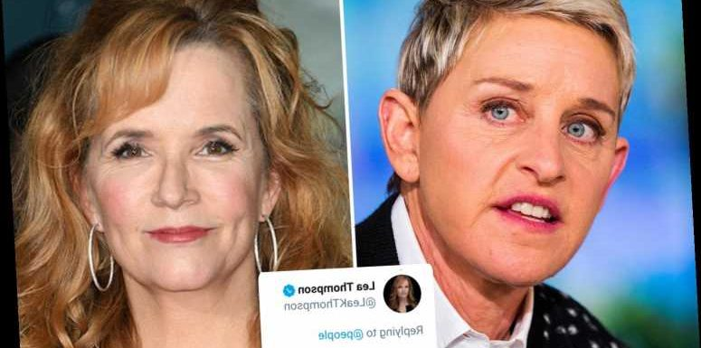 Lea Thompson agrees it's 'common knowledge' Ellen DeGeneres treats people 'horribly' amid 'toxic work culture' claims