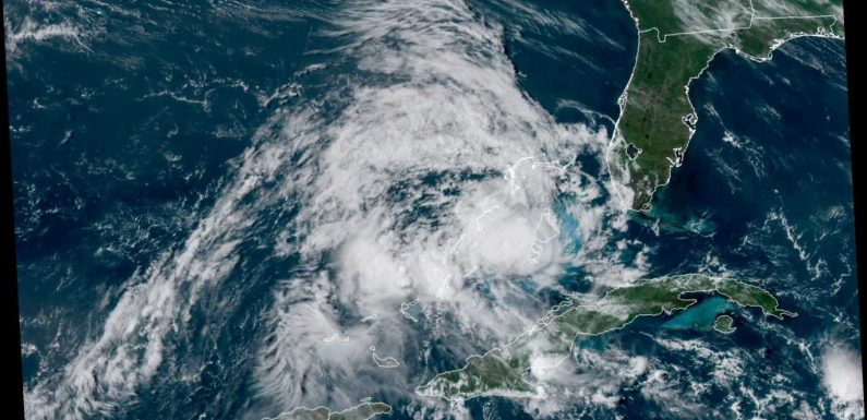 Isaias weakens to tropical storm in Bahamas, expected to strengthen as it heads toward Florida