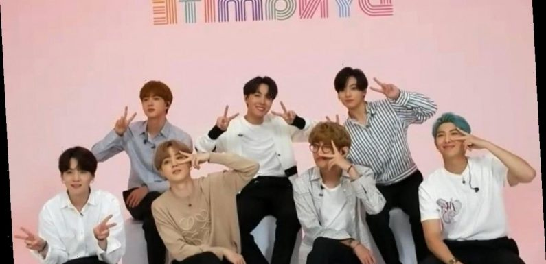 BTS Says 1st English Song 'Dynamite' Was a 'Huge' Journey (Exclusive)