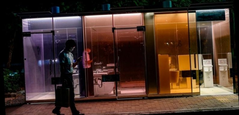 Tokyo Experiments With See-Through Public Restrooms