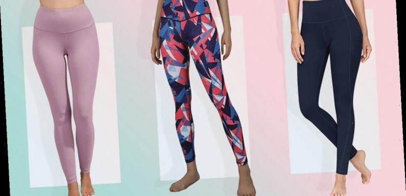 These 5 Leggings Stay Up No Matter How Much Walking Or Squatting You Do