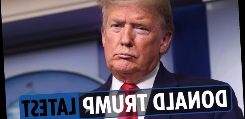 Donald Trump latest news – 'Doctored' Biden photos and schools DEFUNDED for focus on slavery, President says – LIVE