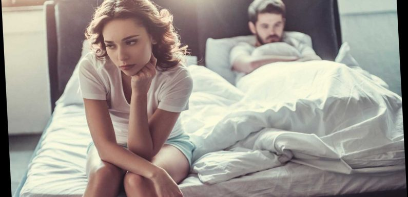 Lack of enthusiasm is the number one reason that couples stop having sex – and cheating is way down on the list