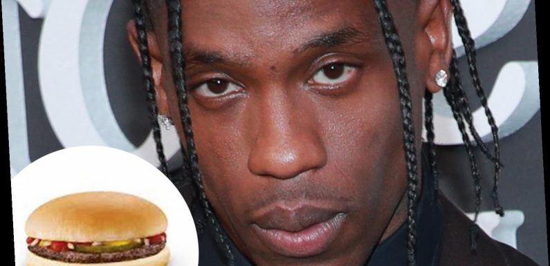 What is the McDonald's Travis Scott meal and when is it on sale?