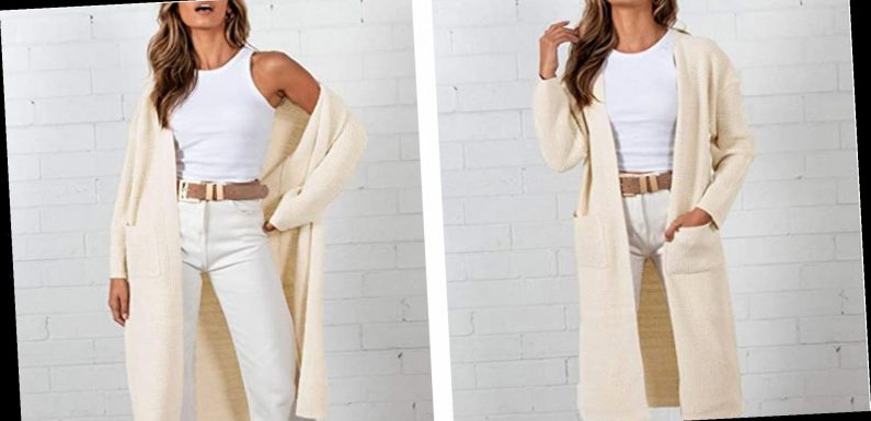 This Classy Maxi Cardigan Will Elevate Even the Most Basic Outfit