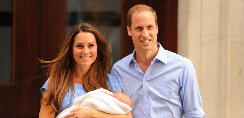 Kate Middleton and Prince William broke royal tradition at Prince George's birth