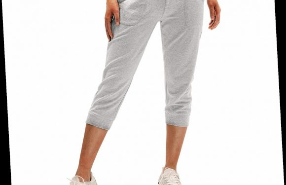 These Cropped Sweatpants Are a Favorite Among Amazon Shoppers