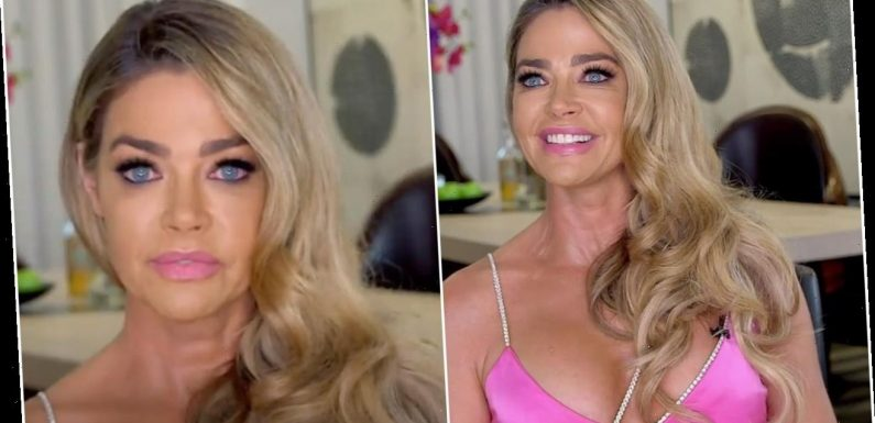 Denise Richards Explained Why Her Eyes Were Red During the 'RHOBH' Reunion