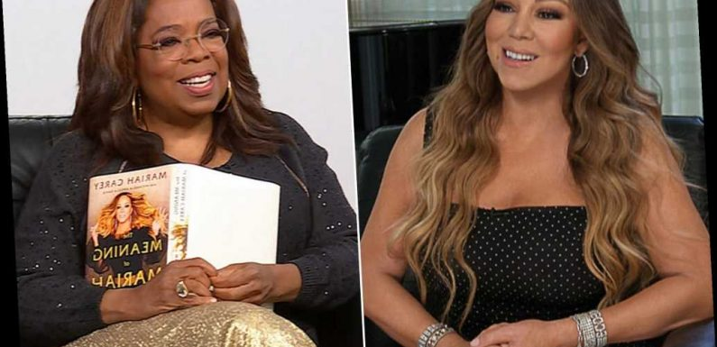 Mariah to Oprah: I won't be 'treated like an ATM machine with a wig on'