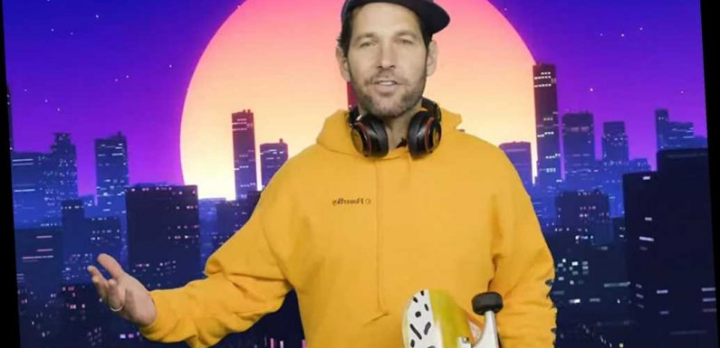 'Certified young person' Paul Rudd implores millennials to wear a mask