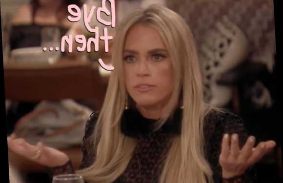 Teddi Mellencamp Confirms She Got FIRED From RHOBH – And Hints At The Reason In Sassy Video!