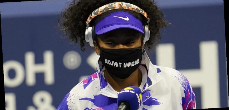 Naomi Osaka wears mask honoring Breonna Taylor at U.S. Open. She hopes to wear 6 more with different names.