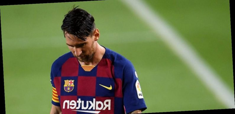 Lionel Messi may not be able to play soccer for an entire season if he wants to leave Barcelona for free