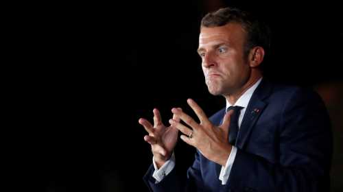 In Lebanon, Macron offers the carrot or the stick