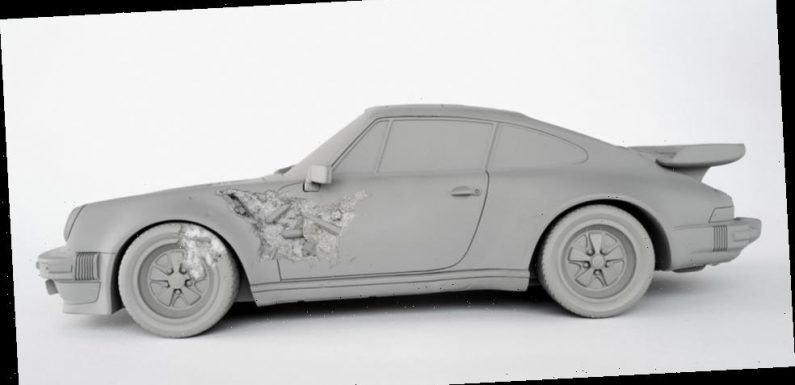 Art for Your Home: Daniel Arsham's 'ERODED 911 TURBO,' Damien Hirst Prints and More