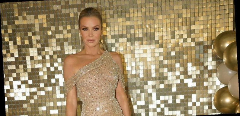 Amanda Holden puts on leggy display as she stuns in gorgeous shimmering gold gown for BGT final