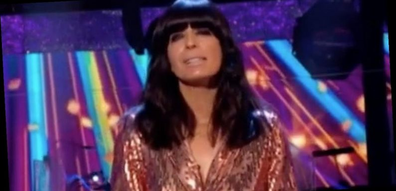 Strictly Claudia Winkleman is unrecognisable in snaps before fringe and fake tan