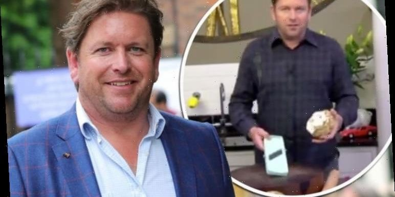 James Martin: Saturday Morning host says he's 'scarred for life' after coleslaw incident