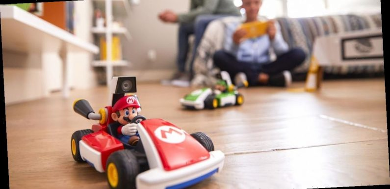Nintendo's Mario Kart Live brings video game to life with remote control toy car