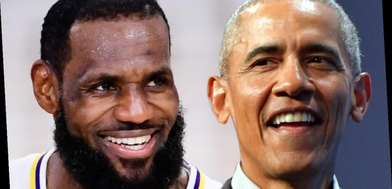 Barack Obama Praises LeBron James, You're a Great Player and Person!