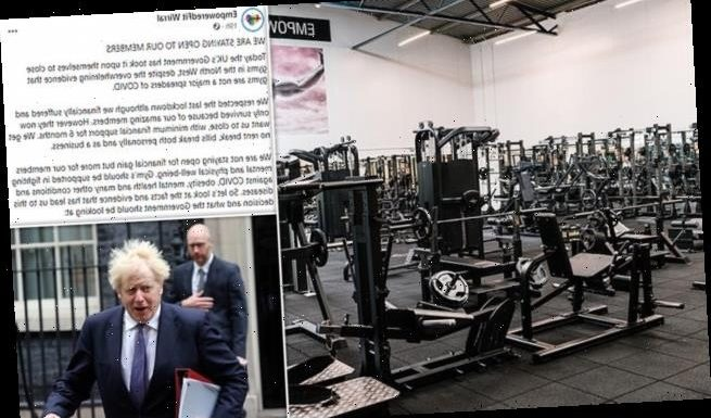 Gym boss in Tier Three-hit Merseyside vows to REFUSE order to close