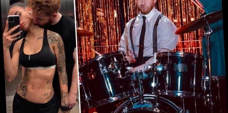 Strictly pro Neil Jones pokes fun at his demotion by telling fans he's joined Dave Archer's band to play the drums