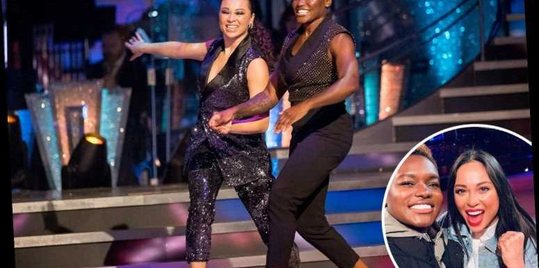 Strictly Come Dancing viewing figures highest in three years as 9 million tune in for show's first same-sex couple