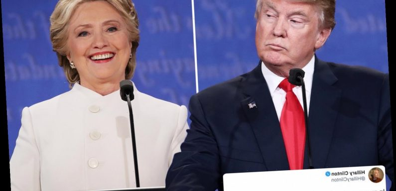 Hillary Clinton mocks Trump by sharing 2016 quote of her calling him 'thin-skinned' and 'not able to handle a crisis'