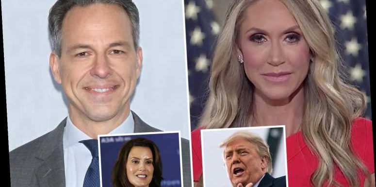 CNN's Jake Tapper grills Lara Trump over Whitmer 'lock her up' chants as she claims president was just 'having fun