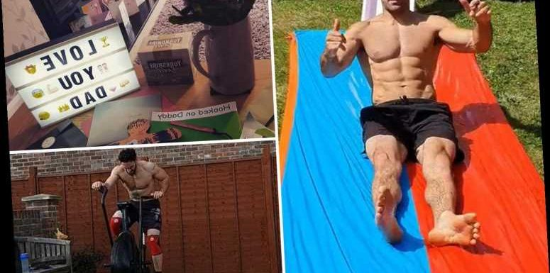 Inside EastEnders star Davood Ghadami's home he shares with wife and two daughters with garden gym and epic slide