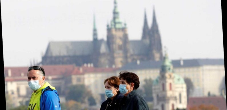 Czech Republic goes back into full national coronavirus lockdown a day after Ireland as second wave smashes Europe