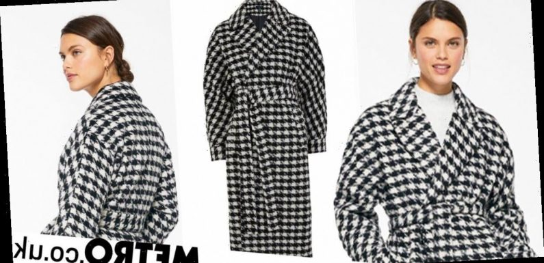 Influencers love this dogtooth coat from New Look – and it's just £60