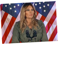 Melania Trump says she does NOT always agree with what Donald says as she speaks for first time since Covid battle