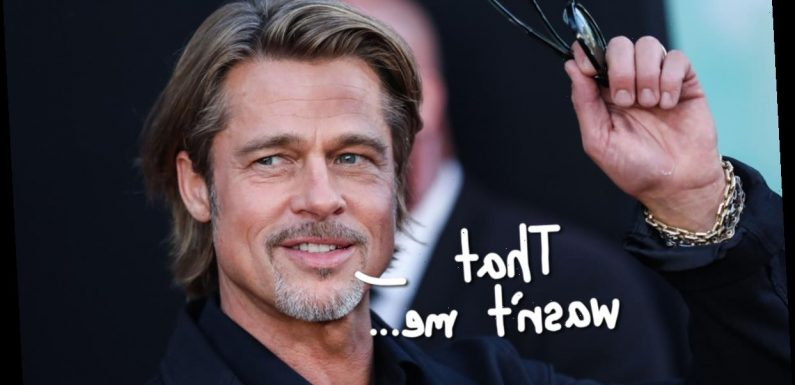 CEO Reportedly Catfished By Brad Pitt Impostor Who Swiped $40K In Bogus 'Appearance Fees'!