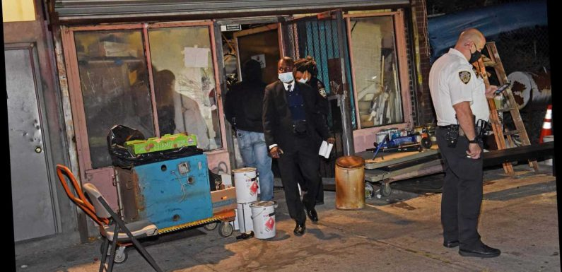 One man dead, three wounded in shooting at NYC 'gambling den'