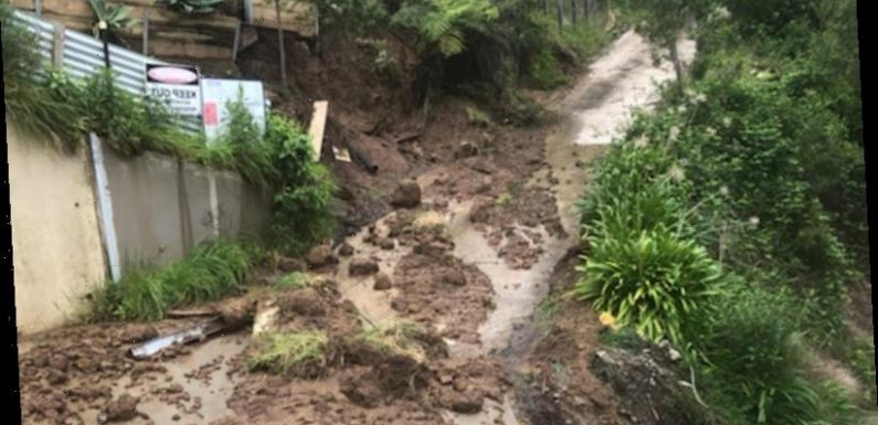 Heightened landslide risk as Victoria faces spring drenching