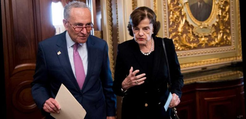 Chuck Schumer refuses to defend Feinstein as Dems call for her to be bumped