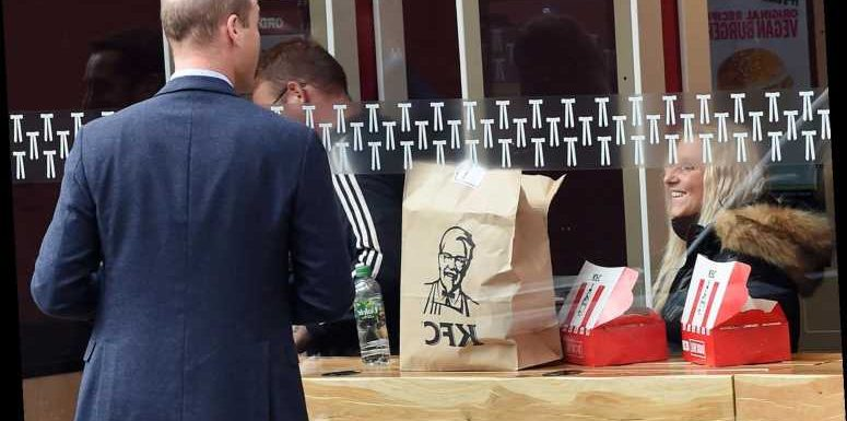 KFC Dubs Prince William 'His Royal Thighness' After He's Caught Peering Through Restaurant Window
