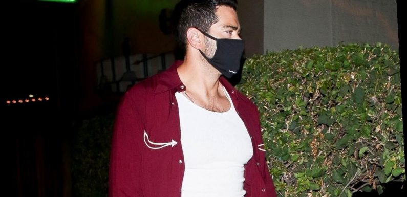 Jesse Metcalfe Spotted on Date with Mystery Woman After 'DWTS' Elimination