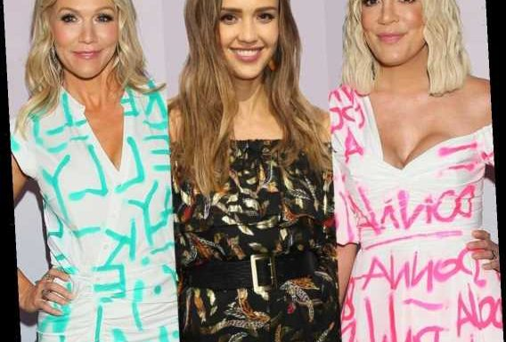 Tori Spelling and Jennie Garth Address Jessica Alba's Claims About the Beverly Hills, 90210 Cast
