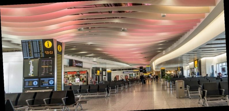A 30-year-old British woman traveling through London airport was arrested after more than $2.5 million was found in her luggage, reports say