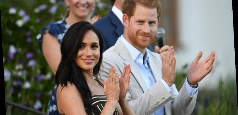 See Meghan Markle and Prince Harry's First Portrait Since Royal Exit
