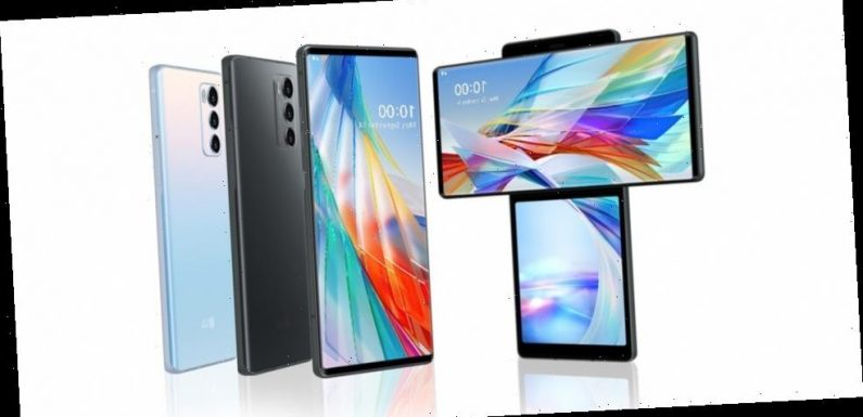 LG's WING Smartphone Sees a Swivelling Second Screen