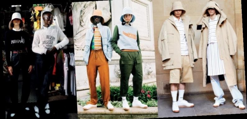 Guest Designer Marcus Clayton Offers Maison Kitsuné SS21 a New Lease on Life