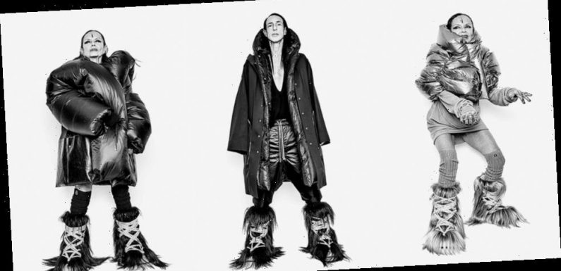 The Moncler + Rick Owens Collection Is Conceptual, Architectural and Extreme